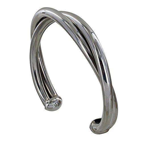 Les Poulettes Jewels - Sterling Silver Bracelet Two Rush by Les Poulettes Jewels