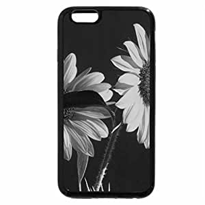 iPhone 6S Case, iPhone 6 Case (Black & White) - A particularly special flower