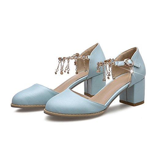 1TO9 Sandales Sandales pour 1TO9 Bleu Bleu 1TO9 femme femme Sandales pour pour frw1x7fq