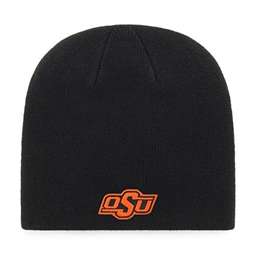 OTS NCAA Oklahoma State Cowboys Beanie Knit Cap, Black, One ()