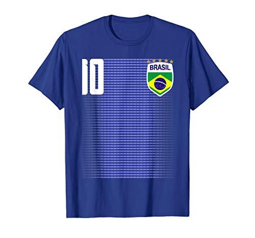 Brasil Soccer Jersey - Brasil Brazil Futebol Soccer Jersey Shirt Tee Camiseta
