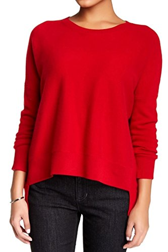 Eileen Fisher Ballet Neck Cashmere Sweater (Petite Large, Lacquer)