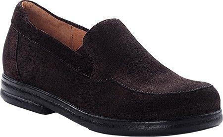 Footprints by Birkenstock PAVIA Leather Slip on Shoe Suede Mocha BkUboUG0c