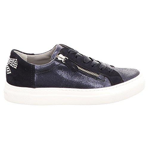DOLLY DONNA , Damen Niedrige Sneaker , schwarz - schwarz - Größe: 38