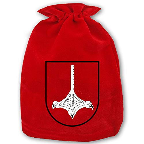 (Christmas Gift Bags Foot Duck Webbed Leg Wrapping Holiday Drawstring Gift Bags for Party Wedding,Christmas Valentine,School Classrooms and Party Favors)