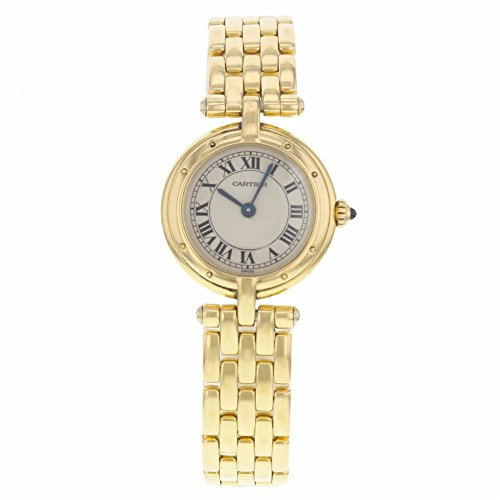 Cartier Panthere Vendome Cougar 8057921 18K Yellow Gold Quartz Ladies Watch(Certified Pre-owned) (Cougars Womens Watch)