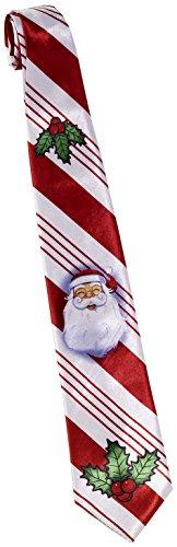 Candy Cane Costume Men (Forum Novelties Men's Candy Cane Christmas Tie, Multi, One Size)
