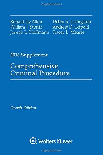 Comprehensive Criminal Procedure: 2016 Case Supplement (Comprehensive Criminal Procedure Supplement)