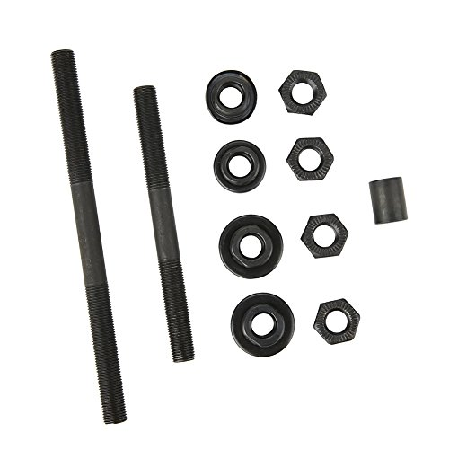 VGEBY Hub Axle Kit, Super Light Bearings Hub Axle Kit Bicycle Front and Back Axles Hollow Hub Shaft by VGEBY