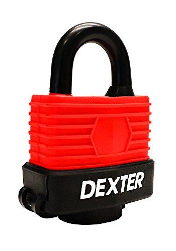 Dexter 6947 Candado Laminado Cubierto en Vinil (Contra-agua) 30mm