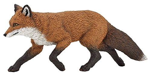 Fox Animal Figurine - Papo Wild Animal Kingdom Figure, Fox