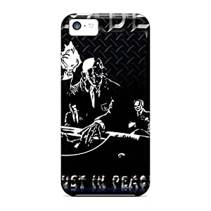 RitaSokul Iphone 5c Great Cell-phone Hard Cover Custom Lifelike Megadeth Band Pictures [JdC10757lqkN]