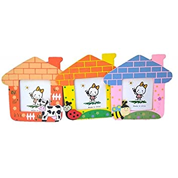 Birthday Popper Animal Photo Frame As Party Return Gifts For Kids With Free Gift Cover Thank You Card
