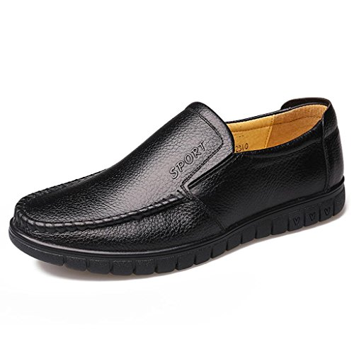 Trabajo Conducción Negocios de Zapatos Libre Zapatos Zapatos al de Zapatos de Black de para Ancianos Hombre Aire Zapatos wqwvS0Ix