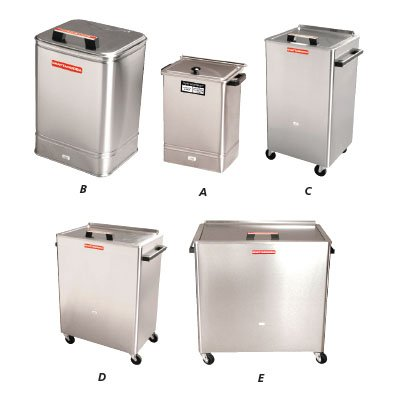 2 Heating Unit - Hydrocollator Heating Units - (Pic A) Model E-1, Includes 4 standard HotPacs (15