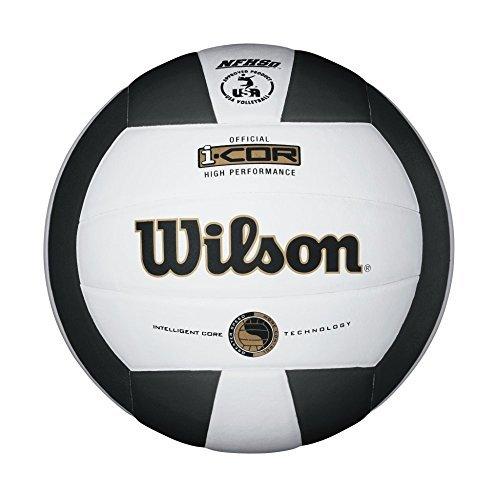 Wilson i-COR High Performance Volleyball White/Black [並行輸入品] B06XFRK7J9
