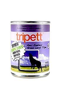 Tripett New Zealand Green Lamb Tripe Dog Food, 13 oz cans, Pack of 12