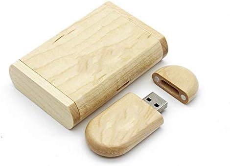 Pendrive - Lápiz de Memoria USB 2.0 (Madera de Arce, con Caja de Almacenamiento), Color Madera: Amazon.es: Electrónica