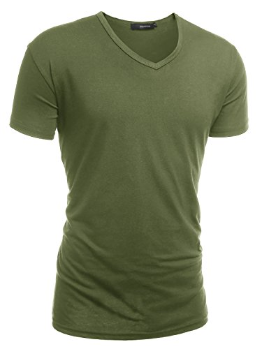 Adult Army Green T-shirt - 8