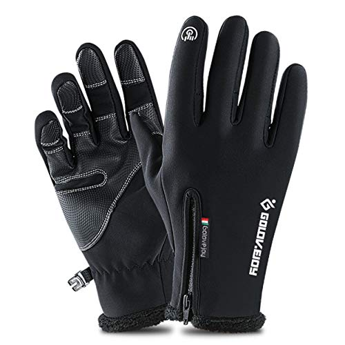 (mymerlove Merlove Outdoor Waterproof Cycling Ski Gloves Winter Touch Screen Warm Riding Gloves)