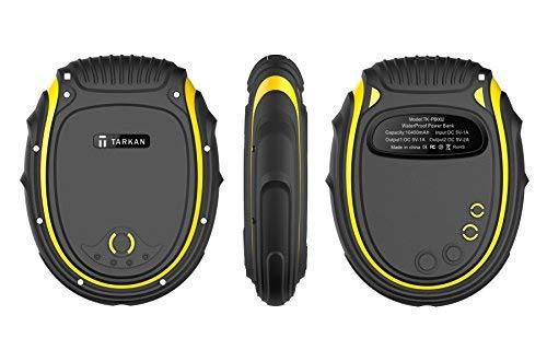 Tarkan 10400 mAh Rugged IP68 [Water, Dust and Shock Proof] Dual USB Power Bank