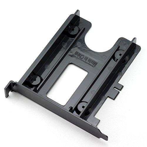 ZRM&E 2.5 Rear Panel HDD/SSD Bracket Internal PCI Slot Expansion Rear Bracket Tray Caddy Carrier Hard Drive Enclosure Rack