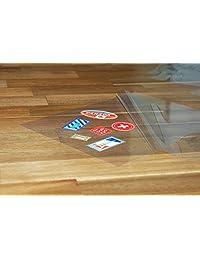 100 pack Self adhesive Laminating Sheets por la oficina Plaza, autoadhesivos, No necesita máquina, Tamaño Carta, 4 mil de grosor.