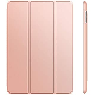 JETech Case for Apple iPad (9.7-Inch, 2018/2017 Model, 6th/5th Generation), Smart Cover Auto Wake/Sleep, Rose Gold