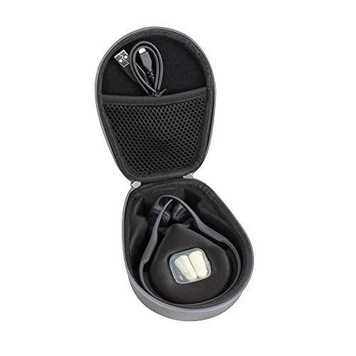 Hermitshell Travel Case Fits AfterShokz Trekz Air Open Ear Wireless Bone Conduction Headphones AS650 (Grey)