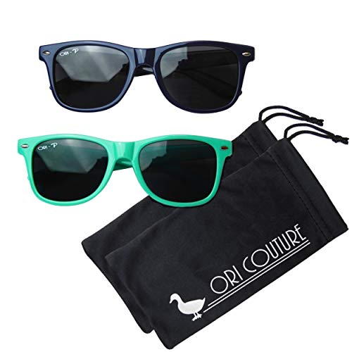 Vintage - W125mmR (NB + Teal 2 Pack) (Best Brand Of Sunglasses For The Money)