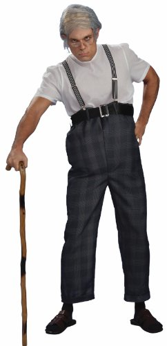 Forum Novelties Men's Uncle Bert Old Man Adult Costume, Multicolor, (Up Old Couple Costume)