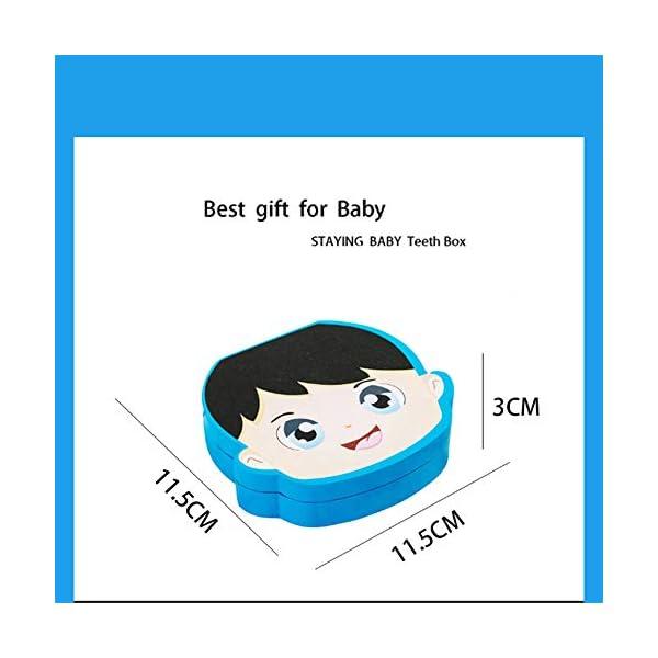 Caja Para Dientes,Caja Para Dientes de Leche Personalizada,Caja Para Guardar Dientes Para Niños y Niñas,Caja de Madera… 4