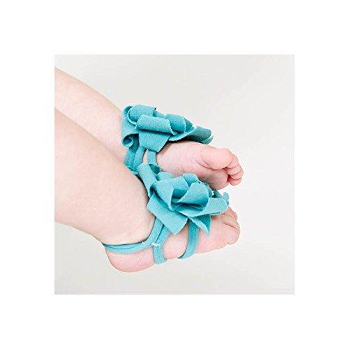 """Accéssoire, couvre pied modèle """"pétale"""" turquoise"""