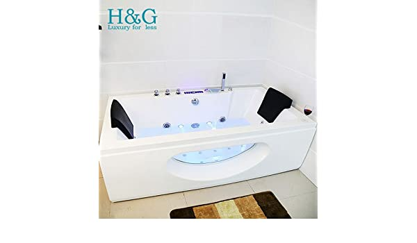 diseo de whirlpool y ducha para baera con jacuzzi esquinero con bordes protegidos x x mm amazones hogar