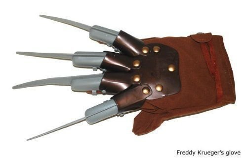 Economy Freddy Krueger Glove Plastic Nails Costume Accessory Child Or Adult -