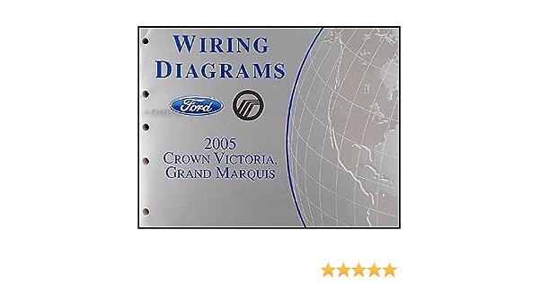 2005 Crown Victoria, Mercury Grand Marquis Wiring Diagrams Manual: Ford:  Amazon.com: Books | 2005 Mercury Marquis Wiring Diagram |  | Amazon.com