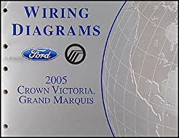 2005 crown victoria mercury grand marquis wiring diagrams manual rh amazon com 2004 Ford Crown Victoria Police Interceptor Wiring Harness 2003 Ford Crown Victoria Fuse Diagram