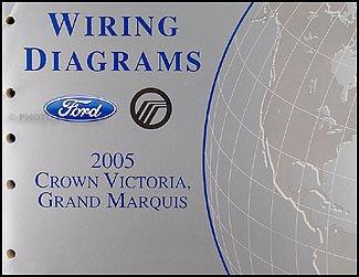 2005 Crown Victoria, Mercury Grand Marquis Wiring Diagrams Manual: Ford:  Amazon.com: BooksAmazon.com