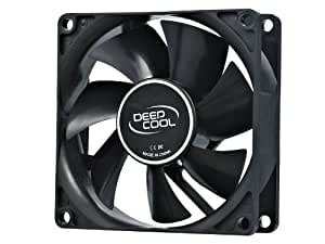 DeepCool XFAN80 - Ventilador de caja, negro