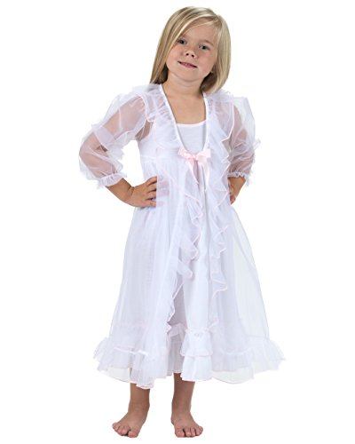 Laura Dare Youth Girls Sweet Princess Peignoir Nightgown ...