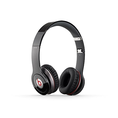 Beats Solo HD Wired On-Ear Headphone - Black (Discontinued by Manufacturer) (Renewed)