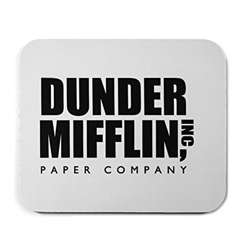 Funny Dunder Mifflin Square Mouse Pad
