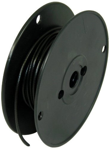 George L's 155 Guage Instrument Cable Roll (Black, 50 Foot) by George L's