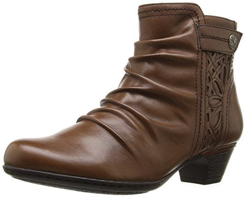 Rockport Cobb Hill Women's Abilene Boot,  Almond, 9 M US