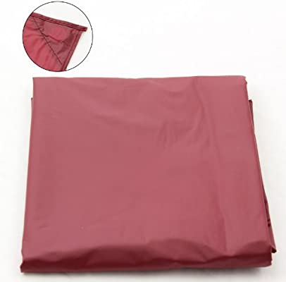 Jonny 8 Ball 7FT Red Nylon Weighted Pool OR Snooker Table Cover ...