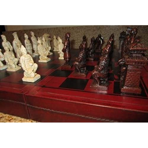 Antique Chess Set Amazon Com