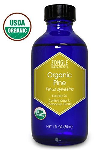 Zongle USDA Certified Organic Pine Essential Oil, Bulgaria, Pinus Sylvestris, 1 oz