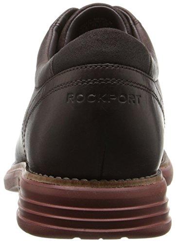 Rockport Mens Totale Movimento Fusione Plaintoe Scarpa Cioccolato Amaro Scuro