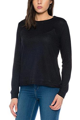 ICHI - Pull - Femme noir Schwarz (10001)