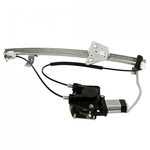 VIOJI 1pc New Front Passenger Rigth FR RH Side Power Glass Window Regulator w/ Motor For Durango (Rh Front Door Regulator)